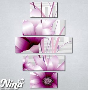 Slike na platnu 3d Ljubicasti cvet Nina345_5