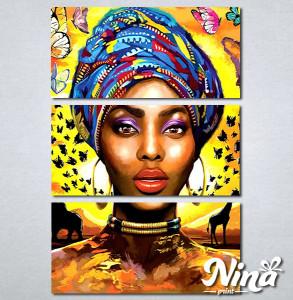 Slike na platnu Africki motiv Nina326_3