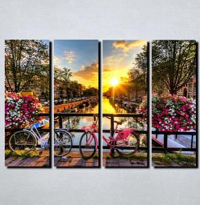 Slike na platnu Amsterdam Nina106_4