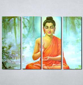 Slike na platnu Buda Nina074_4