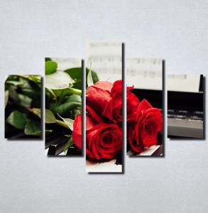 Slike na platnu Crvene Ruze Nina171_5