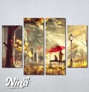 Slike na platnu Devojcica i macka Nina243_4