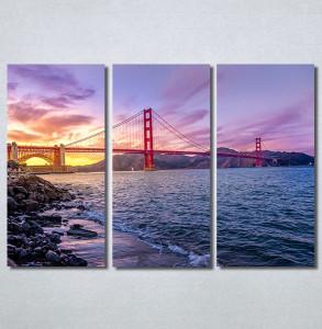 Slike na platnu Golden Gate Bridge Nina30287_3