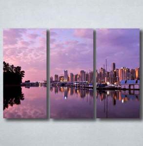 Slike na platnu Grad i noć Nina092_3