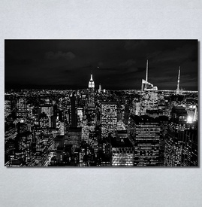 Slike na platnu Grad noću Nina30161_P