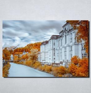 Slike na platnu Jesen u gradu Nina154_P
