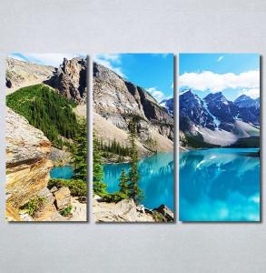 Slike na platnu Jezero na planini Nina30338_3