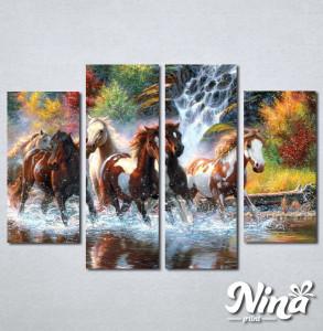 Slike na platnu Konji art Nina249_4