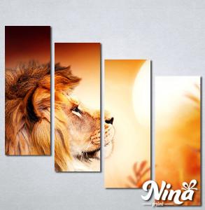 Slike na platnu Lav kralj životinja Nina308_4