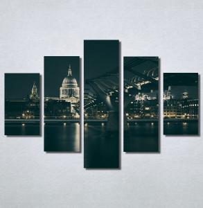 Slike na platnu Most noću Nina30208_5