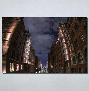 Slike na platnu Mračna ulica Nina30197_P