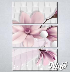 Slike na platnu Nezno roze magnolija Nina318_3