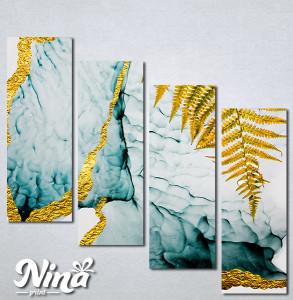 Slike na platnu Paprat apstrakcija Nina264_4