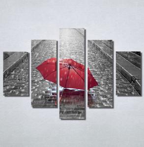 Slike na platnu Pariz i crveni kisobran Nina30145_5