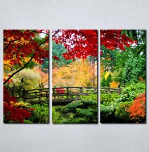 Slike na platnu Park u bojama Nina044_3