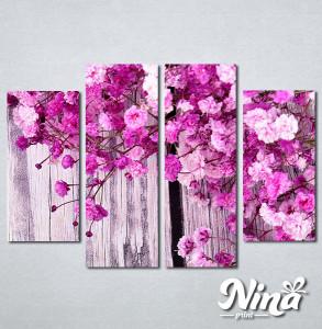 Slike na platnu Pink cvetovi Nina285_4