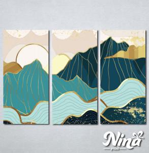 Slike na platnu Planina apstrakcija Nina321_3