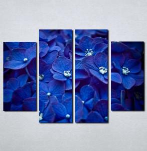 Slike na platnu Plavo cvece Nina059_4