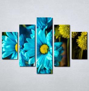 Slike na platnu Plavo i žuto cveće Nina075_5