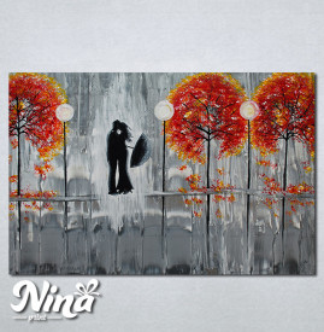 Slike na platnu Poljubac Nina280_P