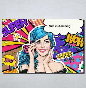 Slike na platnu Pop Art Nina148_P