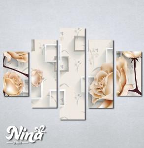 Slike na platnu Prelepe ruze Nina343_5