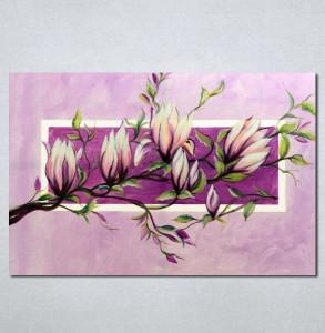 Slike na platnu Roze magnolija Nina226_P