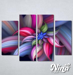 Slike na platnu Šarena apstrakcija Nina251_4