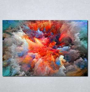 Slike na platnu Šarenilo boja Nina064_P