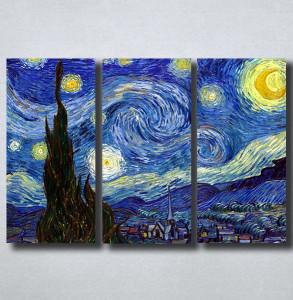 Slike na platnu Starry Night Vincent Van Gogh Nina149_3