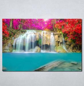 Slike na platnu Vodopad Nina079_P