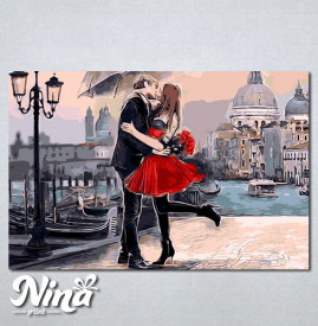 Slike na platnu Zaljubljeni par Nina246_P