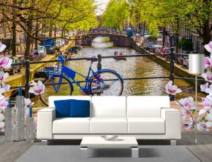 Foto tapeta Amsterdam Tapet164