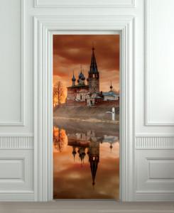 Nalepnica za vrata Dvorac 6111