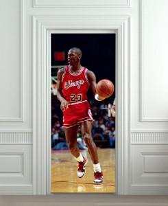 Nalepnica za vrata Michael Jordan 6079