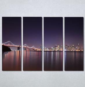 Slika na platnu Golden Gate most Nina30354_4