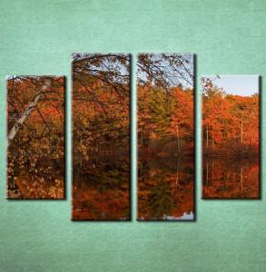 Slika na platnu Jesen reka 3017_4