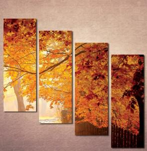Slika na platnu Jesen u parku Nina3071_4