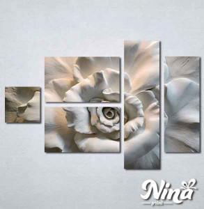 Slike na platnu 3d Ruža Nina300_5