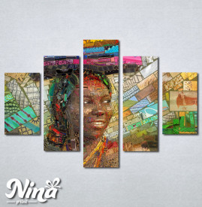 Slike na platnu Afrikanka Nina232_5