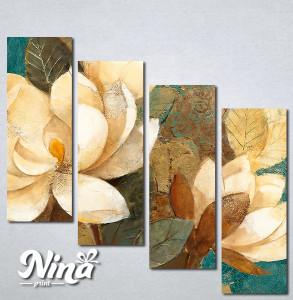 Slike na platnu Bež art ruže Nina288_4