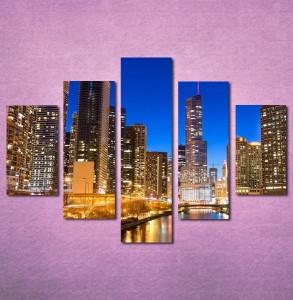 Slike na platnu Chicago Nina3095_5