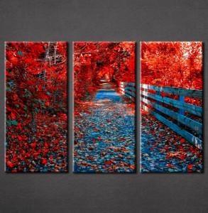 Slike na platnu Crveno lišće Nina3082_3