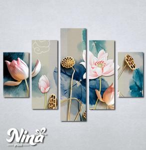 Slike na platnu Cvetna bajka Nina331_5