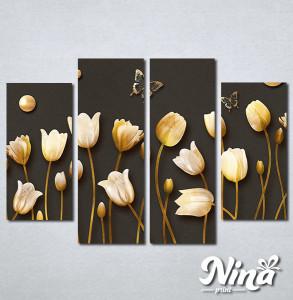 Slike na platnu Cvetna čarolija Nina299_4