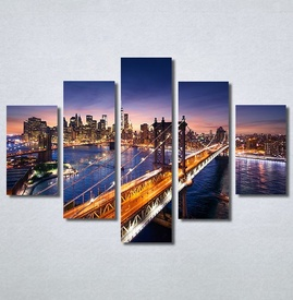 Slike na platnu Grad i most Nina30303_5