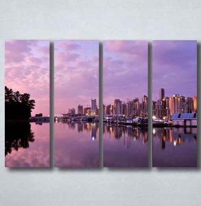 Slike na platnu Grad i noć Nina092_4