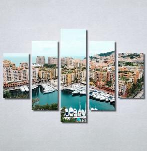 Slike na platnu Gradska luka Nina30322_5
