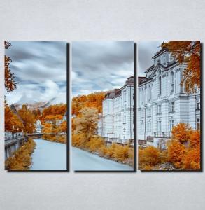 Slike na platnu Jesen u gradu Nina154_3