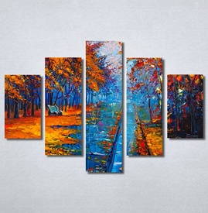 Slike na platnu Jesen u parku Art Nina30324_5